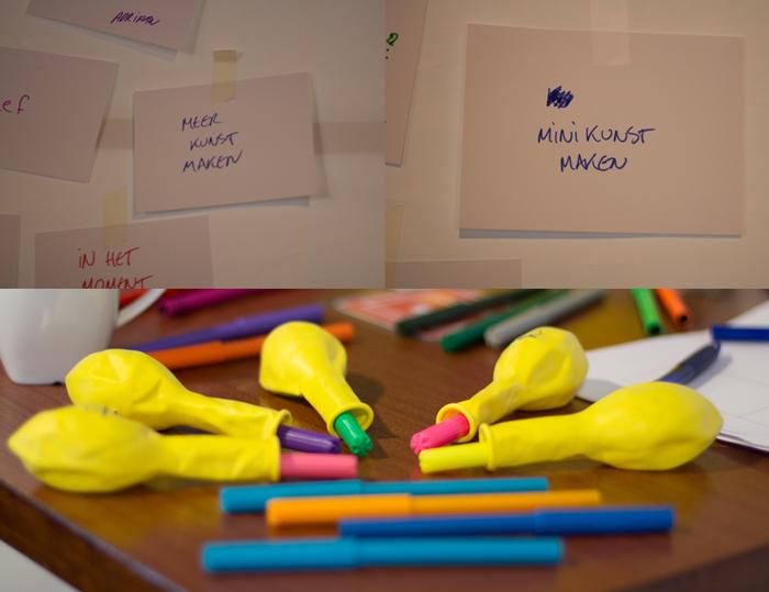 Pak-iets-doe-iets-wand bij het DurftevragenFestival